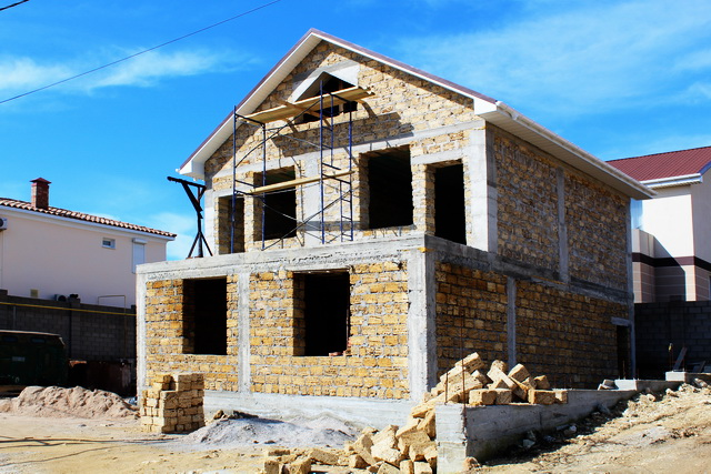 строительстве домов в Крыму