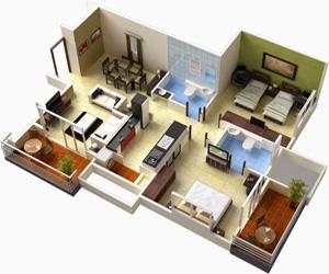 Зонирование и расстановка мебели